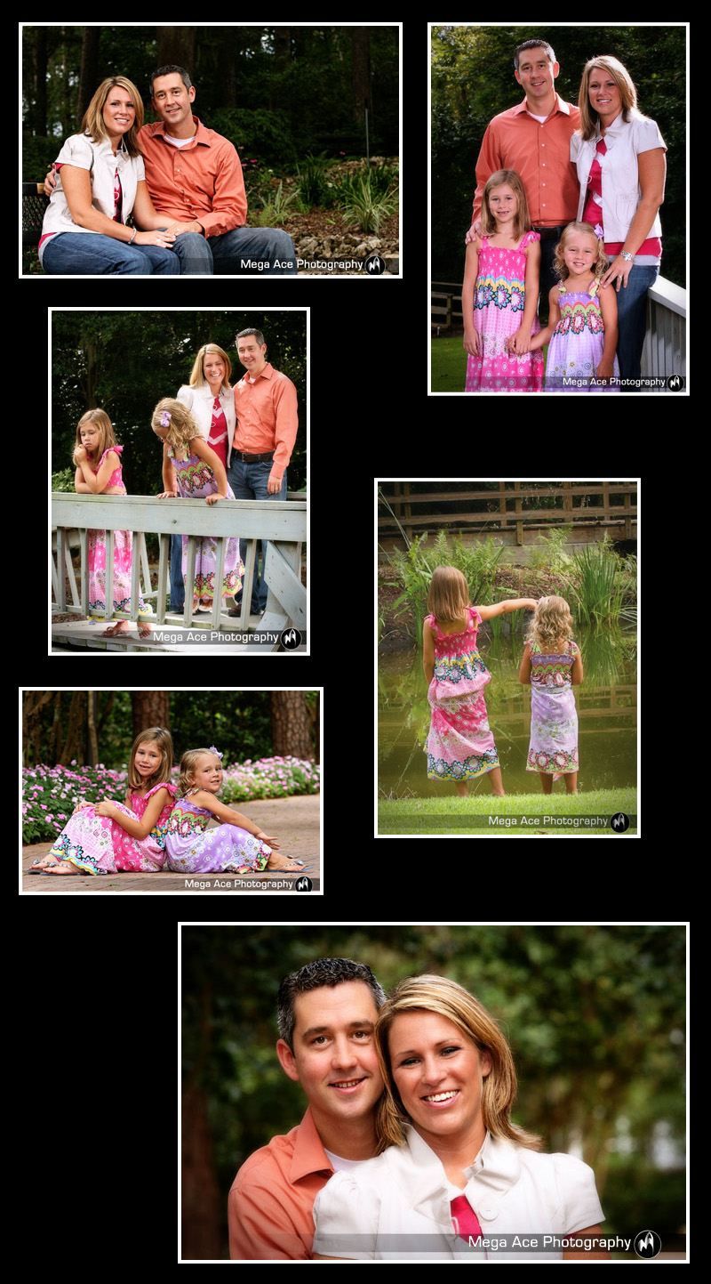 family photography in tallahassee florida at dorothy b. oven