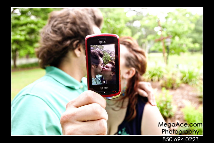 Regan and Sean's Engagement Photo Session in Tallahassee, Florida