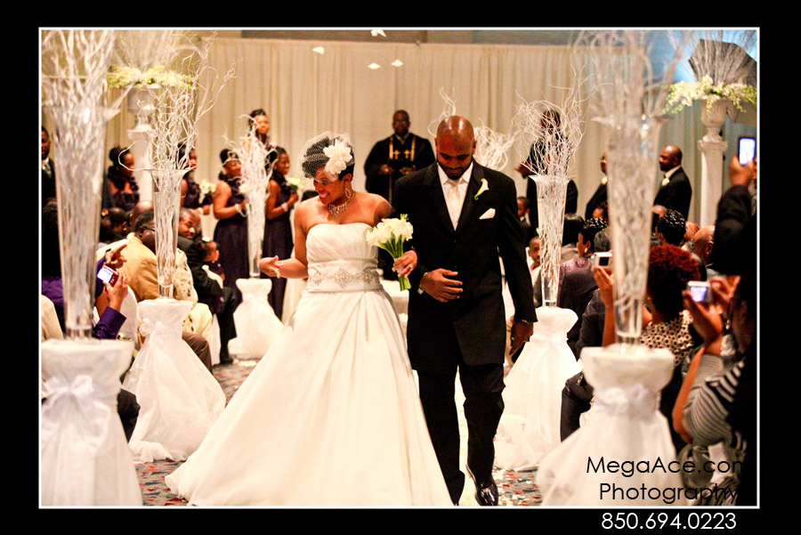 Aquila and Demetrice Gee Wedding in Tallahassee, FLorida